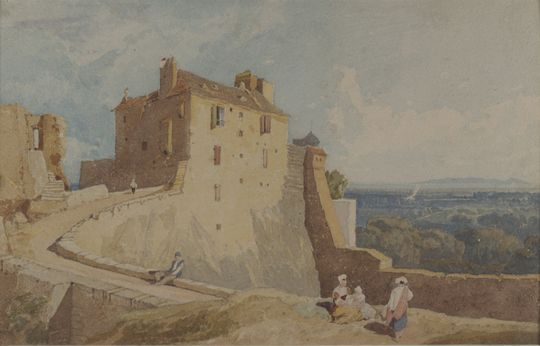 Cotman in Normandy, Dulwich Picture Gallery