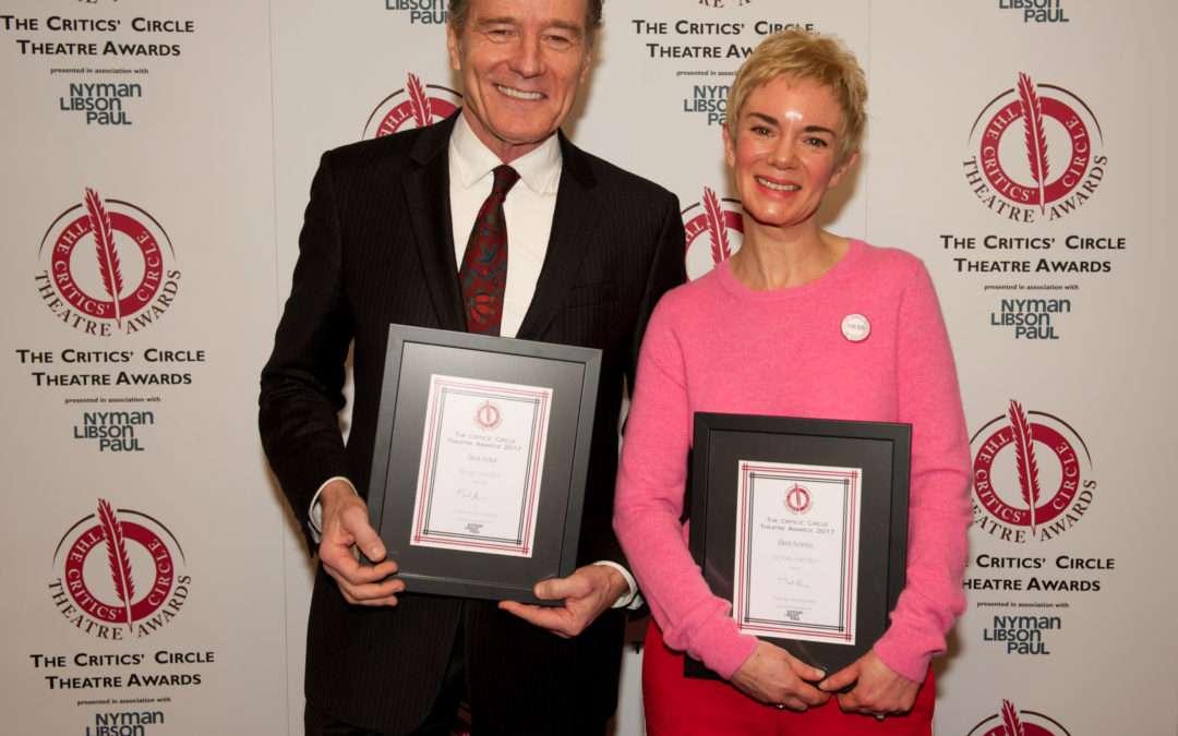 The Critics' Circle Theatre Awards 2017