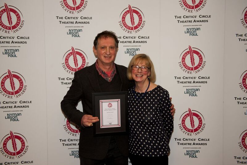 The Critics' Circle drama awards: new Special Award for services to the theatre