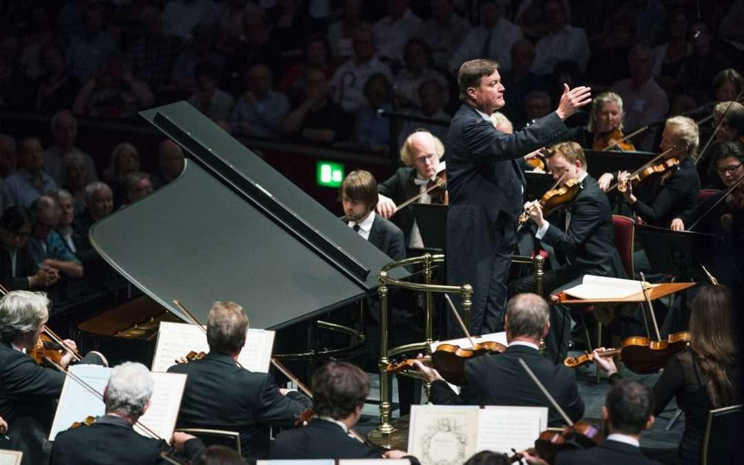 Mozart and Bruckner, Dresden Staatskapelle, Royal Albert Hall,