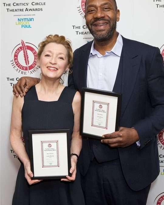 The 2013 Critics' Circle Theatre Awards