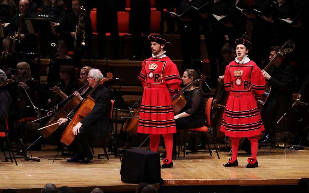 The Yeomen Of The Guard, CBSO Symphony Hall, Birmingham