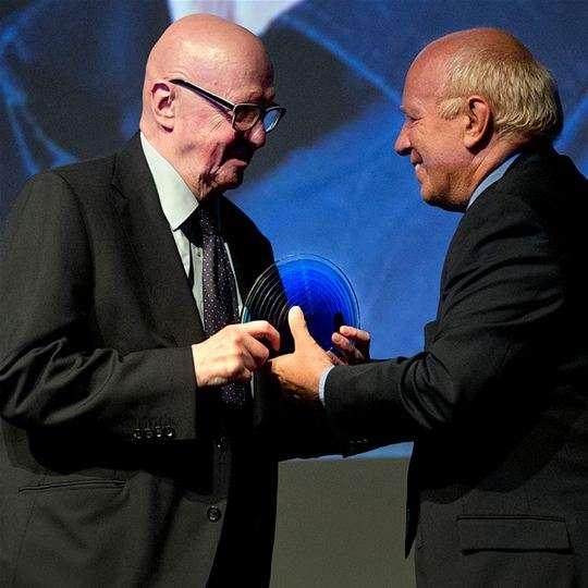 Philip French receives BFI Fellowship