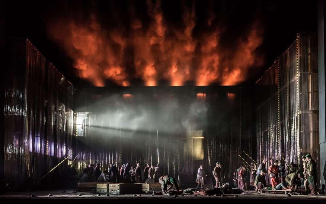 Oedipe, Royal Opera House