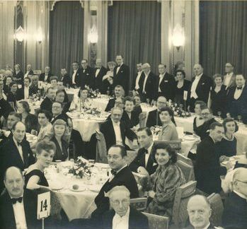Circle Dinners and Film Awards: Vintage Photo Gallery