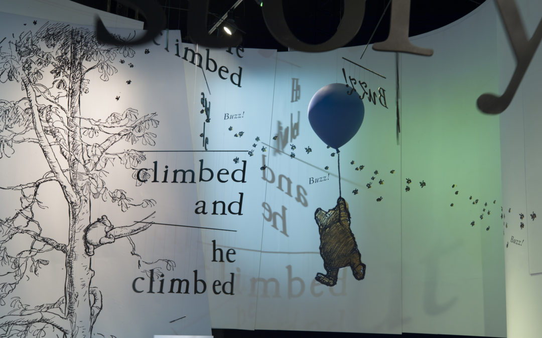 Pooh, the bear that delights young and old