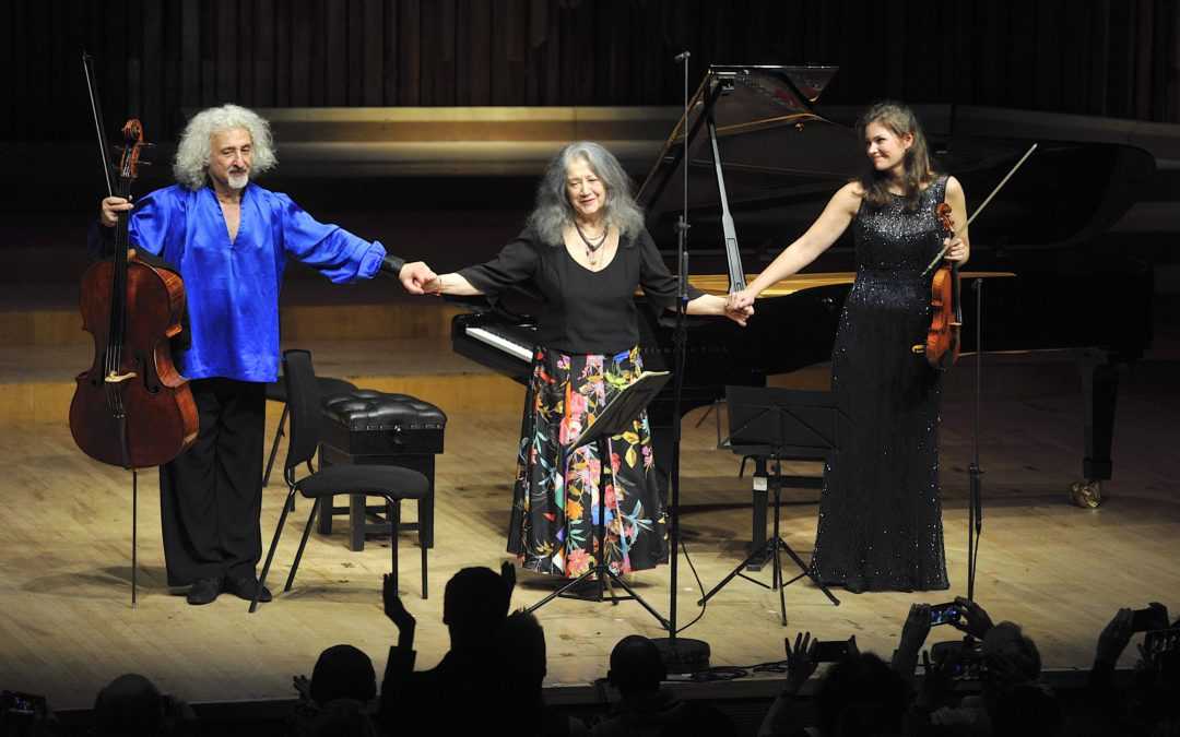 Argerich, Jansen and Maisky at the Barbican