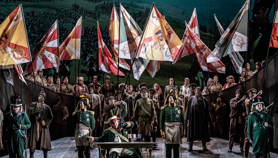 War and Peace, Welsh National Opera, Cardiff