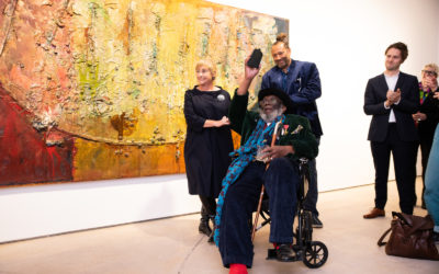 Frank Bowling is the 2018 visual arts winner