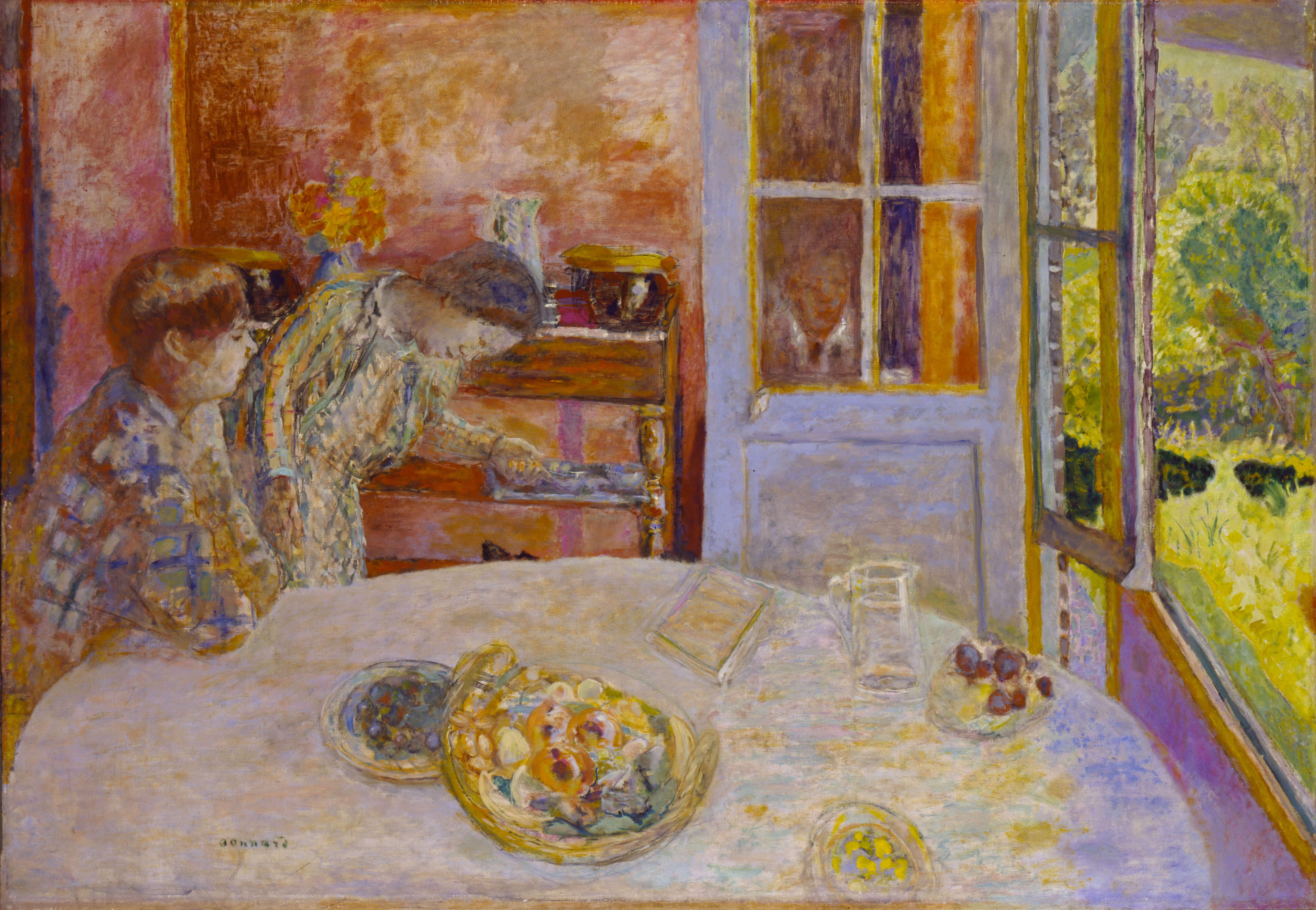 De Salle À Manger pierre-bonnard-the-dining-room-(la-salle-à-manger,-vernon