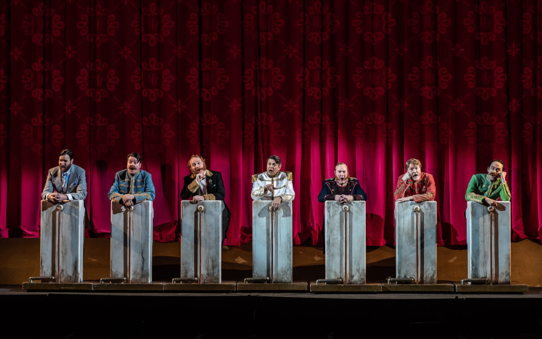 The Merry Widow, English National Opera, Coliseum