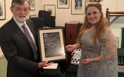 Award for Young Talent (Voice) to Louise Alder